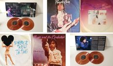 "Prince  2 LP Set  ""7 Days To Live"" On Coloured Vinyl & Lot Of Singles Including 4 Rare None Album Tracks On B Sides"