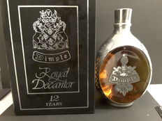 Dimple Royal Decanter 12 years old Numbered