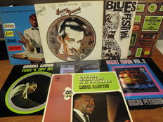 Lot of 9 lp's Jazz and  Blues artist