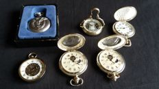 Collection of 6 pocket watches from the 20s