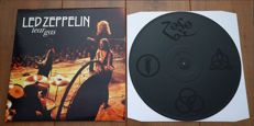 Led Zeppelin- Tear Gas lp/ 333 copies worldwide. One sided disc with laser etched side (4 symbols). Highly collectable!