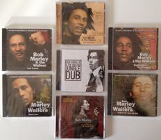 Bob Marley & The Wailers Lot Of  7 CD's Including Lots Of Alternate - Dub - Full Length - DJ - Unreleased Versions & Rarities !!
