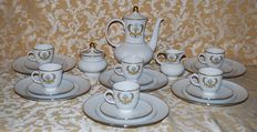 Seltmann Weiden - Full coffee service 6 pieces with saucers and dessert plates