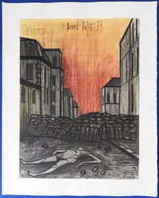 Bernard Buffet (after) - La Guerre : La Commune de Paris