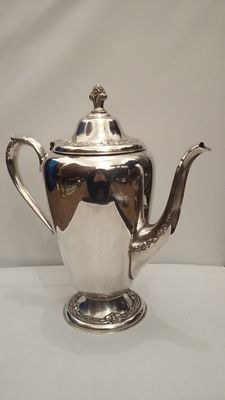 Roger's & Bro, 1898, Silver plated Coffepot, Made in Waterbury, USA