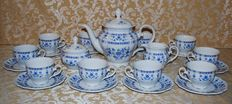 Seltmann Wieden - Complete tea service of 10 pieces