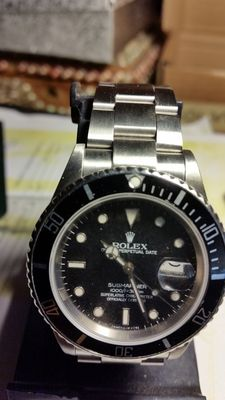Rolex – Submariner watch with date – 1991
