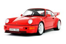 GT Spirit - Scale 1/18 - Porsche 911 964 RS 3.8 1992 - Colour Red