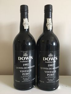 1992 Dow's Vintage port 'Quinta do Bomfin' – 2 bottles