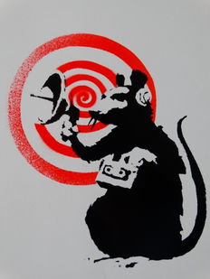 Banksy - Radar Rat Dirty Funker Future