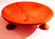 Otto Koedijk – bowl on springs, made from elm wood (unica)