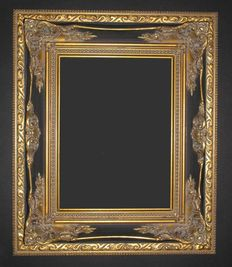 Very nice wide ornamental frame, late 20th century