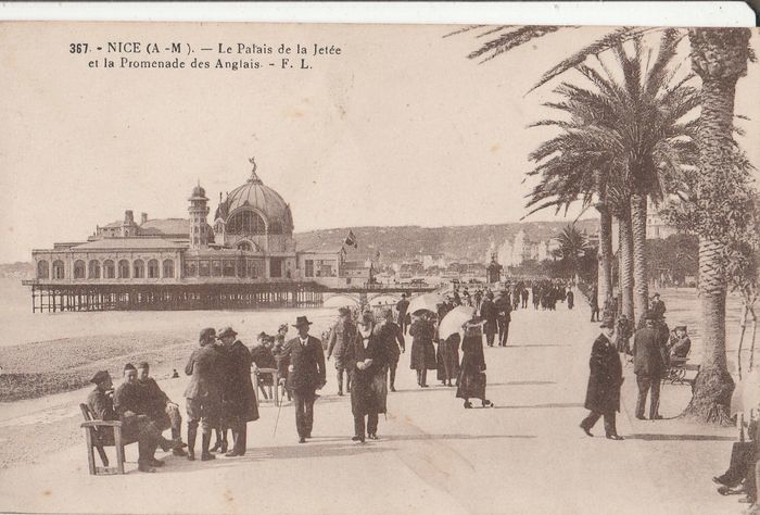 Old postcards of france