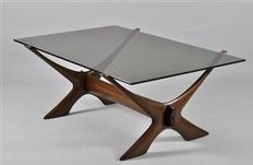 Fredrik Schriever-Abeln by Örebro glass - Coffee table 'Condor'