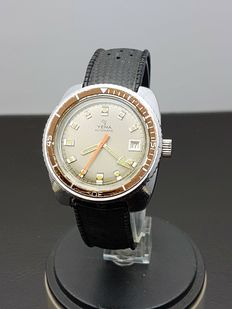 Yema Diver Automatic, men's watch, France, 1970s
