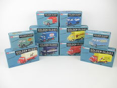 Corgi - Scale ca 1/43 - Lot with 10 different Golden Oldies models