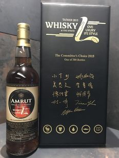 Amrut Whisky L The Committee's Choice 2015 Limited Edition