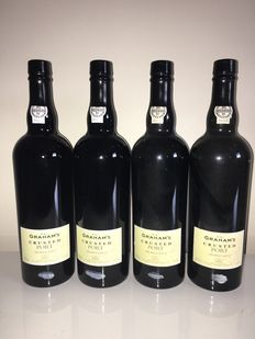 2004 Crusted Port Graham's – 4 bottles 0,75l
