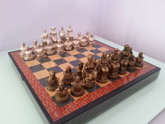 Theme chess: Arab women against Christian women -  end of the 80s, as new.