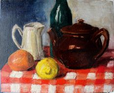 French school from the 20th c. - Nature morte aux fruits.