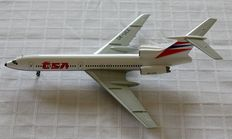 "Herpa Wings Lot: CSA(Czech Airlines) Tupolev TU-154M - Delta Airlines B737 ""Premium Series"""
