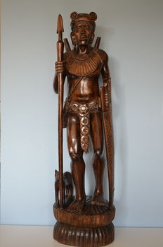 Exclusive African wood carving - Africa.