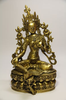 Green Tara - Nepal - Late 20th century