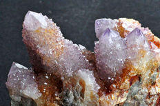 Cactus Amethyst Quartz crystals on matrix - 10,3 x 7,6 x 5,5cm - 314gm