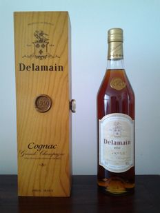 1950 Delamain - Grande Champagne - Cognac - 1 bottle - 70cl