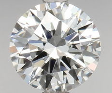 0.50ct Round Brilliant Diamond D IF IGI - SEALED - Serial# 124