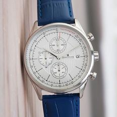 Executive Chronograph – men's wristwatch – in mint condition 19
