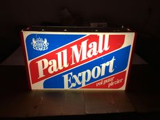 Pall Mall Export Cigarettes- Light box advertising light (48 cm x 28 cm x 13 cm)