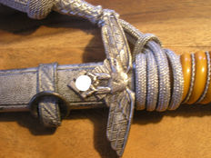 Air Force Dagger for Officers and Sword Knot