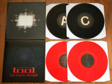 Tool- Lot of 2 limited edition lp's: Aenima (2lp, on black wax + printed insert!) & 10,000 Days (2lp, RED wax!)
