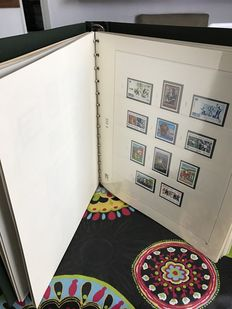 United Nations UN Complete Collection 1969-1995 40 pages in a SAFE luxury album
