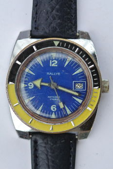 Rallye -- Men's wristwatch - 1970s