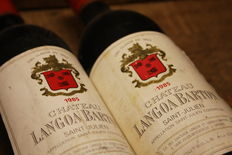 1985 Chateau Langoa Barton, Saint Julien Grand Cru Classé - 2 bottles (75cl)