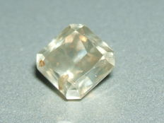 Light grey brown diamond of 1.52 ct