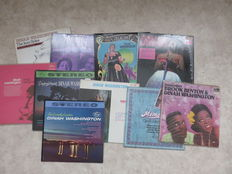 SOUL / JAZZ Dinah Washington, lot of ten (10) LP's in EX / NM condition