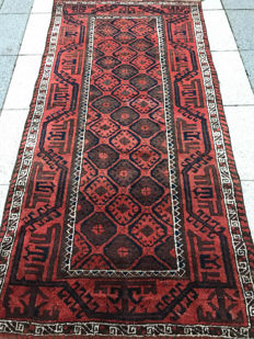Magnificent Persian Beluch carpet - 100% wool