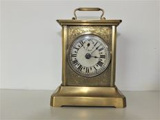 Alarm clock with music box - Würtemberger - approx. 1930