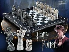 Two complete Harry Potter chess sets, the dragon edition and Harry Potter edition!!