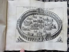 Basil Kennet - Romae Antiquae Notitia: or, The Antiquities of Rome - 1731 [With:] John Ozell - The Roman history complete - 1716