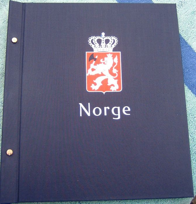 Norway 1855/1984 – Collection in DAVO album