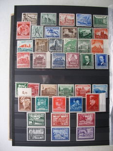 German Empire/Reich 1940/45 - collection without official stamps, complete