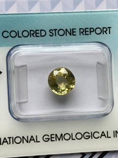 Sfene giallo – 2,48 ct