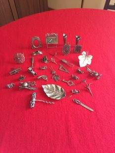 Miniatures in silver 800