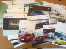 Volkswagen - collection brochures, including special ones - 1992 / 2015