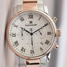 Thomas Earnshaw Westminster Chronograph -  heren polshorloge -  in nieuwstaat 0124