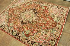 Hand-knotted old Persian carpet - Najafabad, 200 cm X 150 cm - Iran - Around 1930/1950